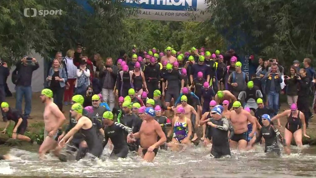 Sport v regionech: Prague City Swim