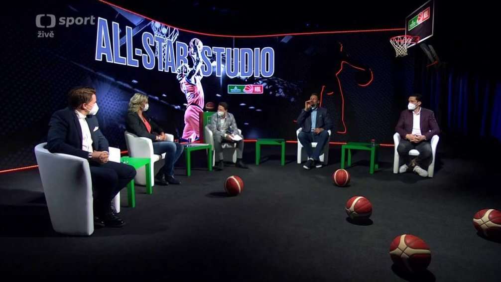 Basketbal: All-Star Game Studio