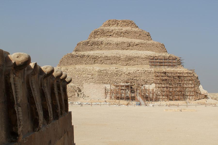 Egyptské pyramidy uhlík datování