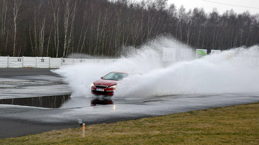 Besipky: Aquaplaning