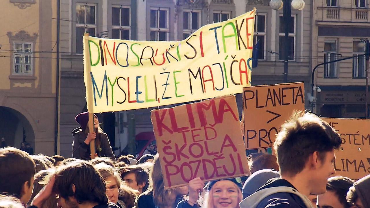 Stávka Za Klima Twitter