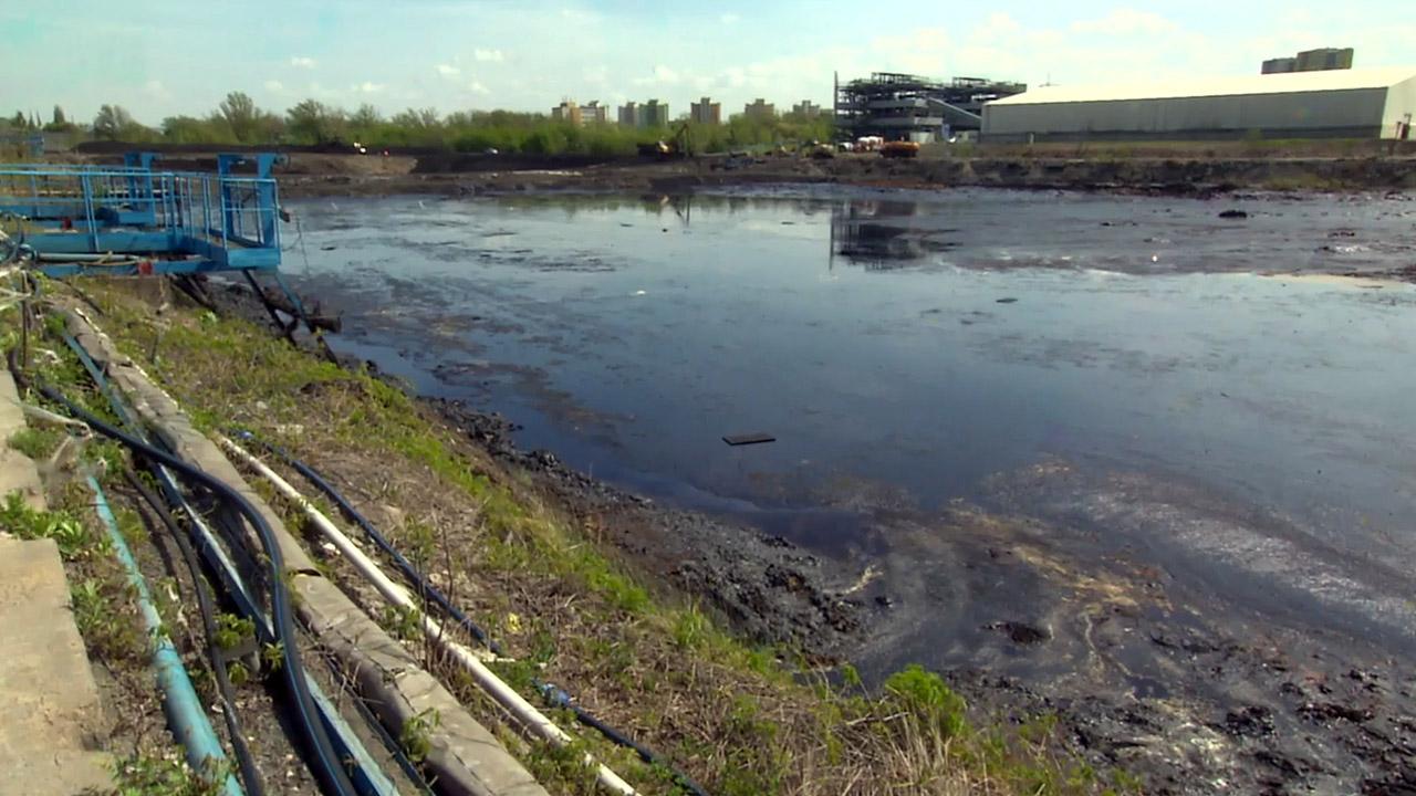 Ostravské ropné laguny jsou jednou z největších ekologických zátěží na  území České republiky 06a0b271aa