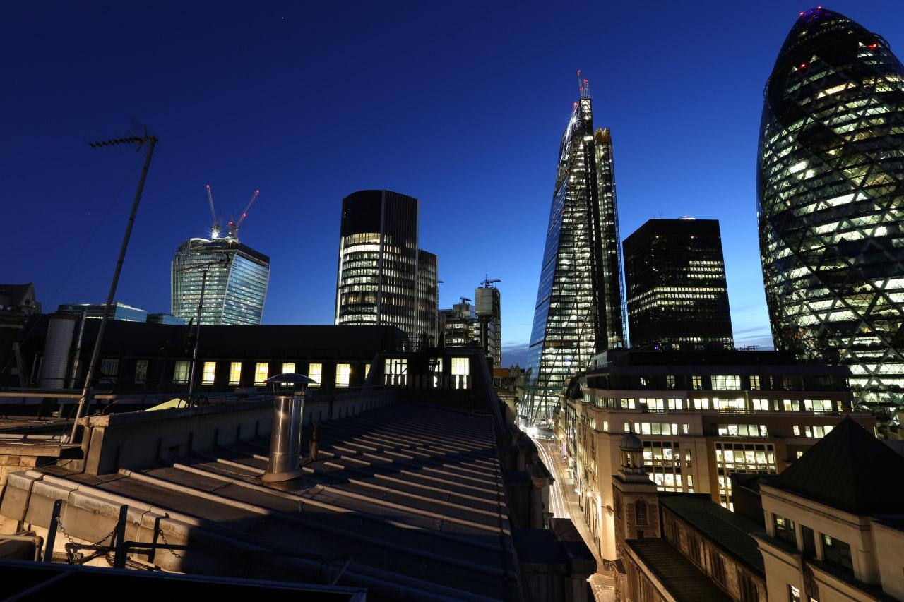 Připojte stránky v Londýně