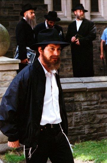 Randím s židovským mužem
