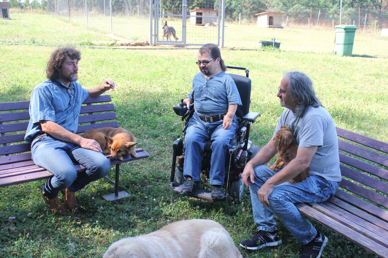 66a3c7056b3 Kočka není pes: Tvrdohlavý Gentleman a agresivní Flíček s Gigim ...