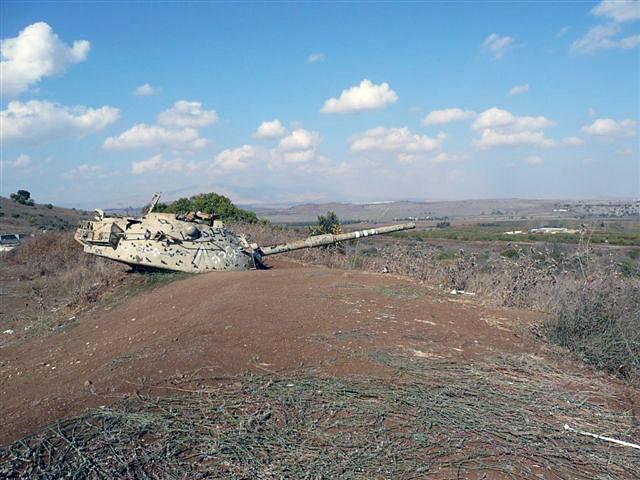 Výsledek obrázku pro Golanské výšiny